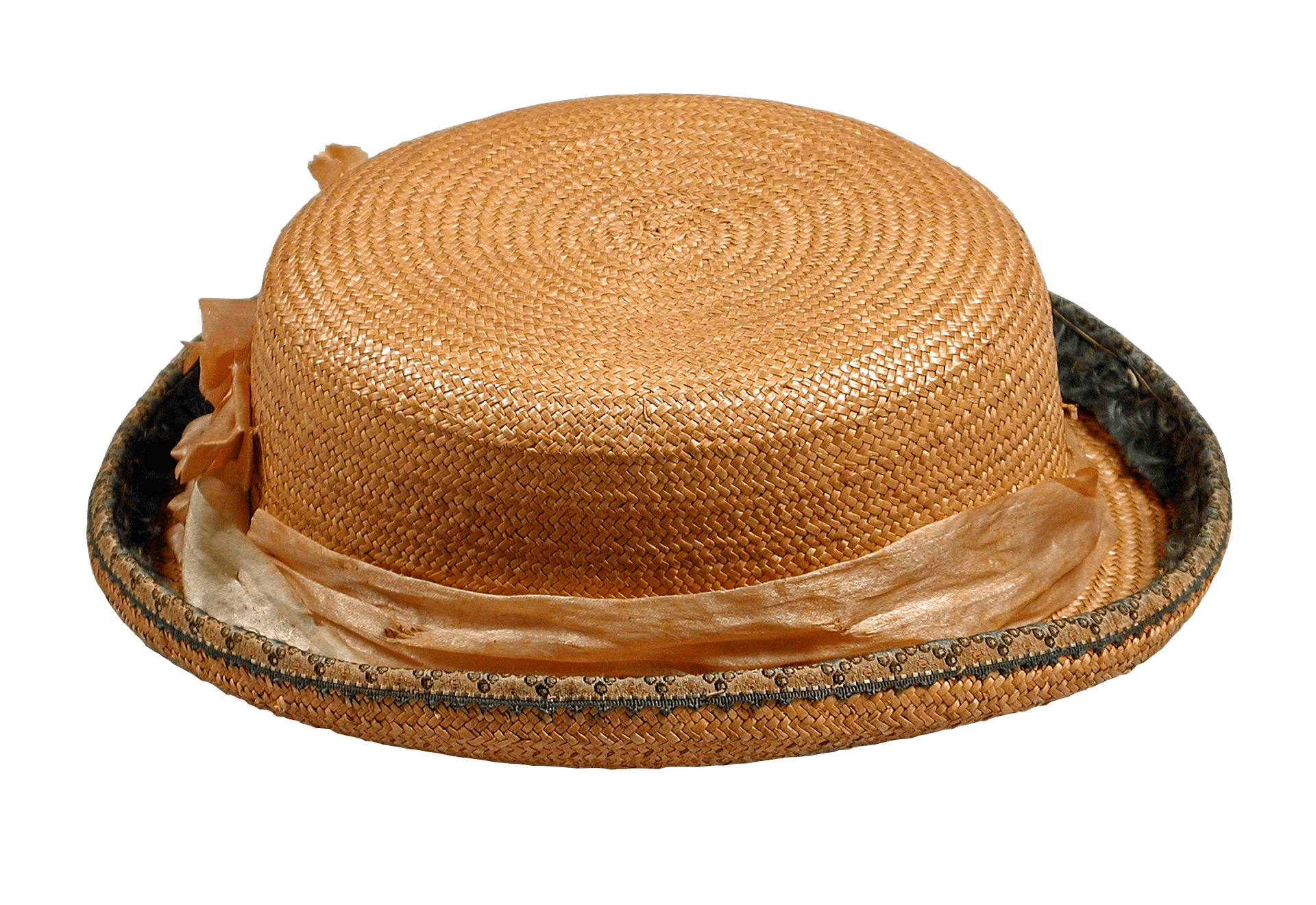 straw hat-tocados antiguos